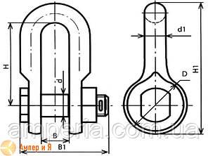 Скоба СК-7-1А, фото 2