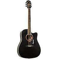 Акустическая гитара EQUITES  EQ905C/BK 41''