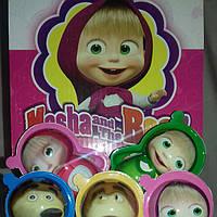 Яйцо шоколадное пластиковое Toy Egg 24 шт, 15 гр Маша и Медведь