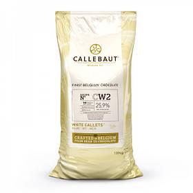 Barry Callebaut W2NV-595 Білий шоколад  (з натуральною ваніллю сорту Bourbon) по 10 кг