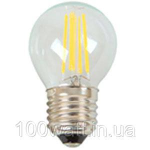 Лампа светодиодная FILAMENT VINTAGE-6 прозрачная E27 6500K 6W шарик ST694