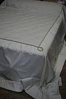 Покрывало на кровать бело-золотое