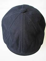 Кепки темно-синего цвета из коттона.