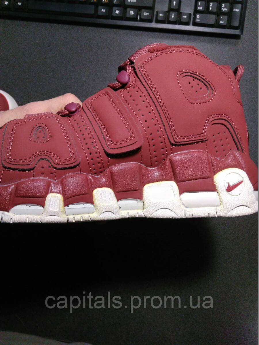 acef7e3c7b00 Мужские кроссовки Nike Air More Uptempo Bordeaux(Уценка)  продажа ...