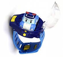 Часы Poli с мини машинкой на радиоуправлении Robocar Poli (83312)