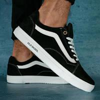 Мужские кожаные кроссовки Vans