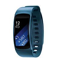 Фитнес-часы Samsung Gear Fit2 Blue (SM-R3600ZBASEK)