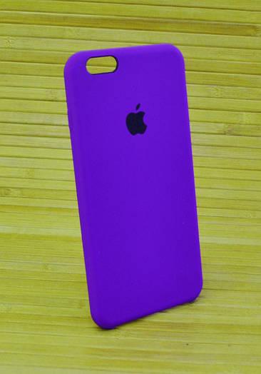 Силиконовый чехол на Айфон, iPhone 6+ \ 6 Plus ORIGINAL ELITE COPY фиолетовый