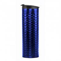 Термокружка Luigi металлическая, синяя, 450 мл