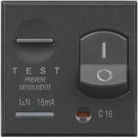 """Axolute """"Salvavita"""" двухполюсный дифференциальный автоматический выключатель, 6 А, индикатор состояния контакт"""