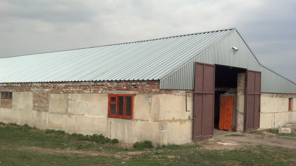 Зернохранилище в Великом Бурлуке
