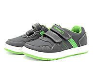Кроссовки для мальчиков на липучках 27,31 размеры
