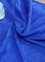 Велюр одежный стрейч Magisco Velour синий электрик 0,5-0,6 мм Франция