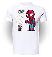 Футболка мужская Geek Land Человек Паук Spider-man Ant man SM.01.058