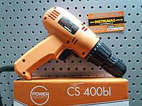 Шуруповерт сетевой POWERCRAFT CS 400bl