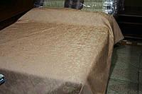 Покрывало - накидка на кровать ( персик), набор