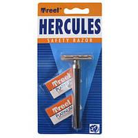 Т-образный станок для бритья Treet Hercules + 2 лезвия Treet Platinum