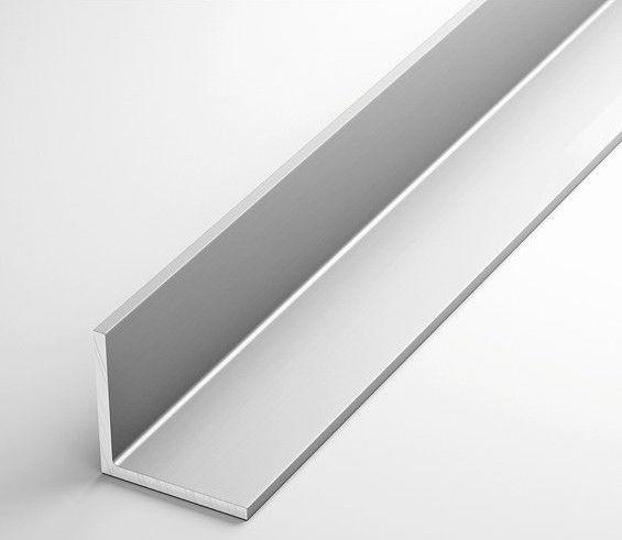 Алюмінієвий кутник рівносторонній 30x30x2, порізка