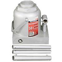 Домкрат гидравлический бутылочный, 50 т, h подъема 236–356 мм// MTX MASTER