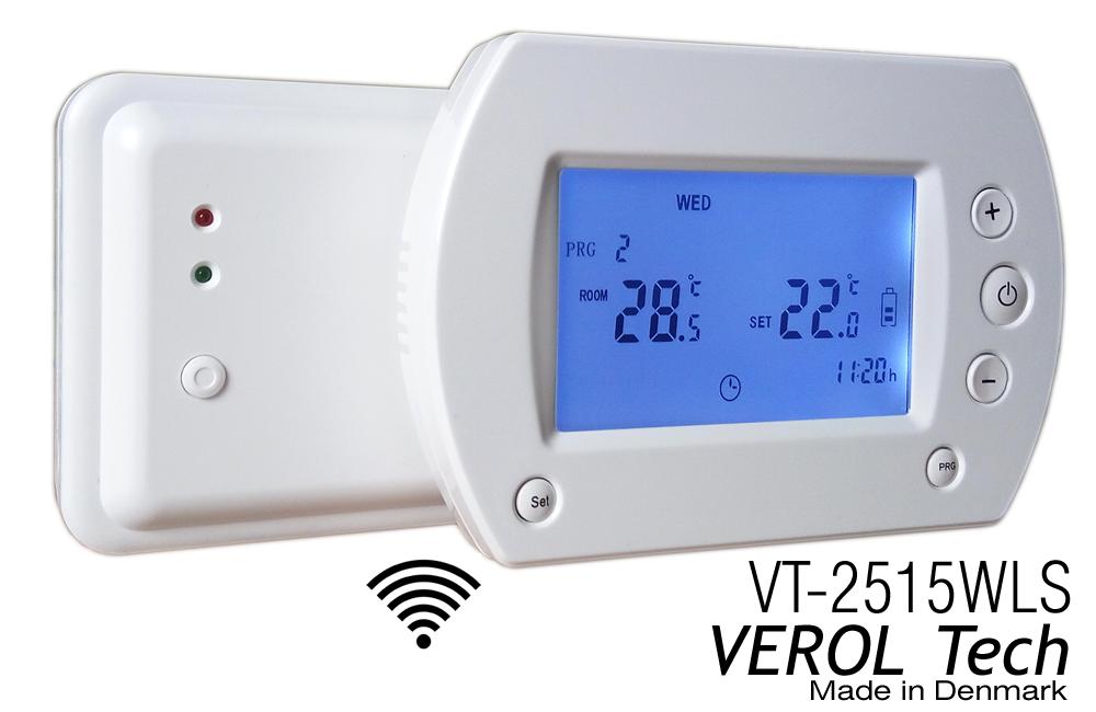 Комнатный термостат Verol VT-2515 проводной