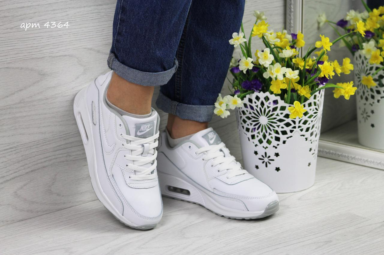 3f8d0a37 Женские кроссовки Nike Air Max 90, материал — замша, цвет — черный ...