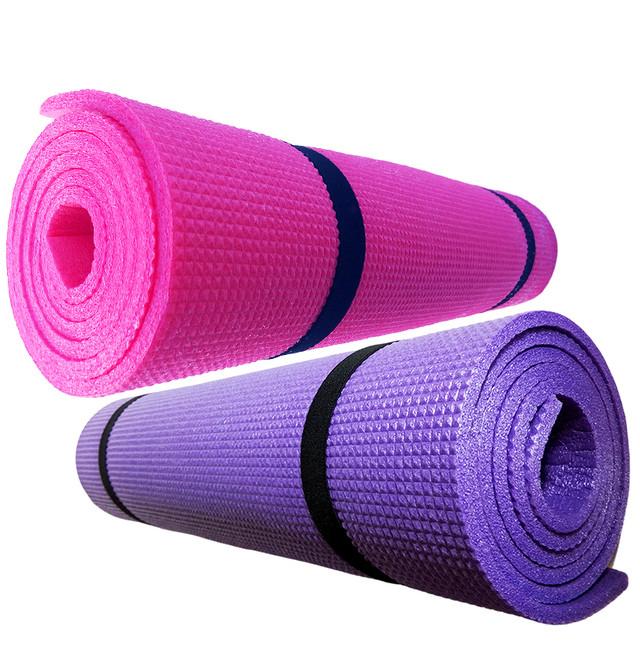 Купить коврик для йоги, фитнеса, аэробики «Mini-8» для фитнеса