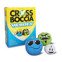 Петанк CrossBoccia Heroes Blue Fun (970825)