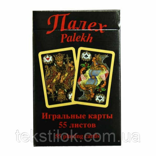 Карти игральные Piatnik Black Palekh 55 листов