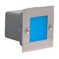 Светодиодный светильник встраиваемый в пол 0,9W синий Gumus HOROZ