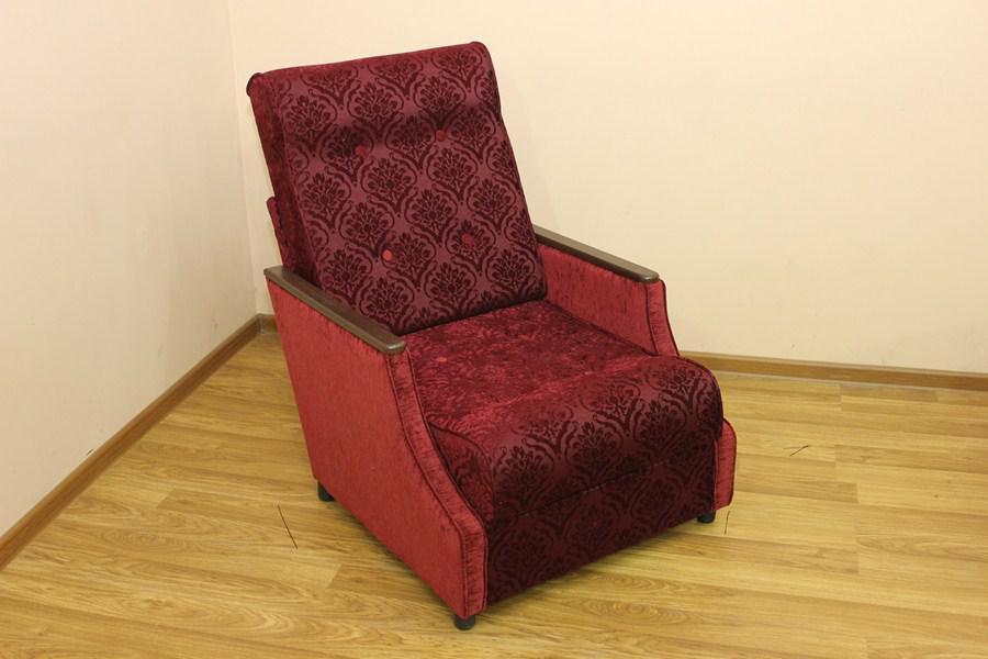 Кресло-Кровать Малютка Кадиф бордо и розалинда 203 (Катунь ТМ)