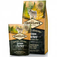 Корм Carnilove Salmon & Turkey For Large Breed Puppy