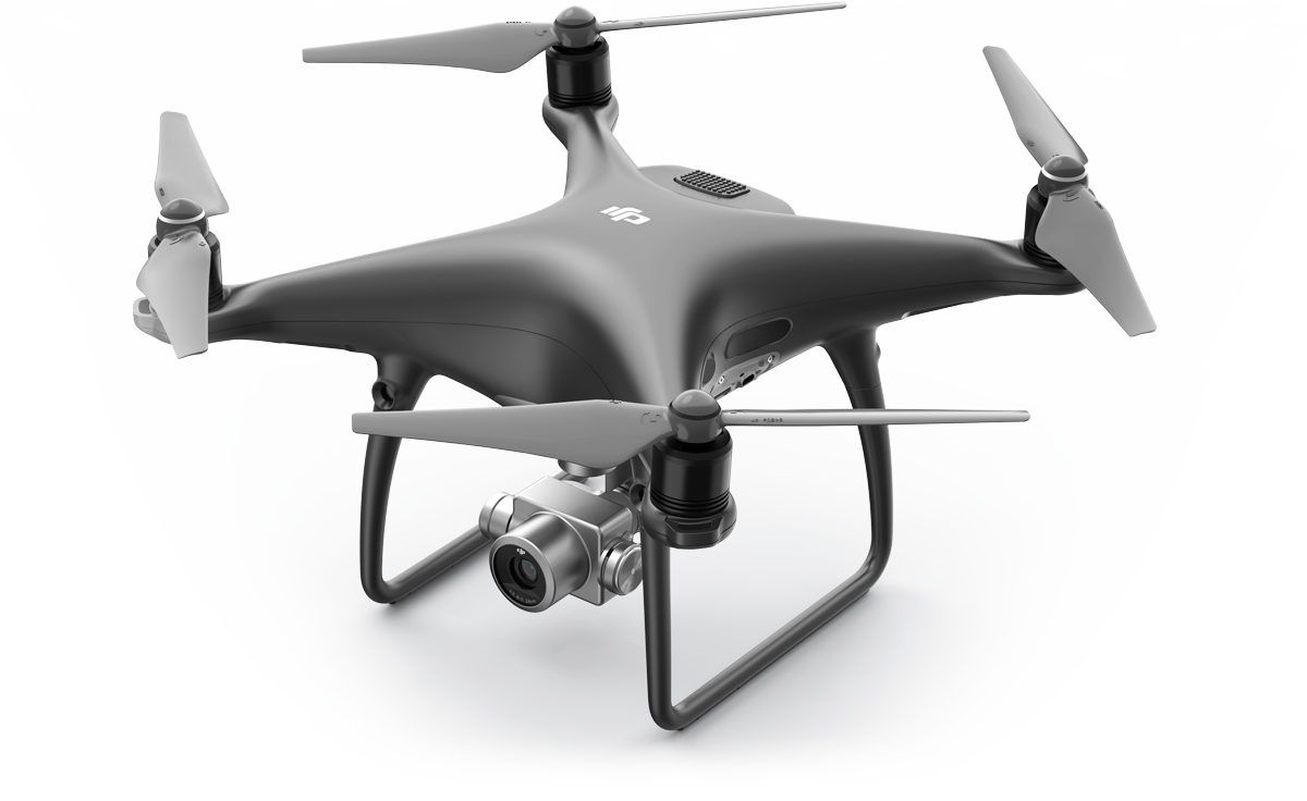 Квадрокоптер DJI Phantom4 Pro Plus Obsidian Edition & 2 extra batteries