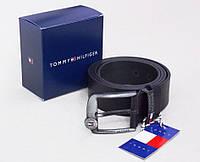 Мужской кожаный ремень для джинс TOMMY HILFIGER, фото 1