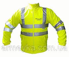 Светоотражающая ветро/влагостойкая куртка softshell (софтшел). Великобритания, оригинал.