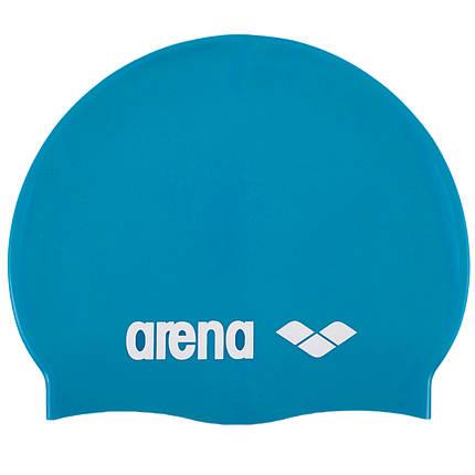 Силиконовая шапочка для плавания и бассейна, фото 2