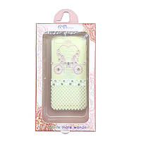 Чехол силиконовый Bonjour Карета для iPhone 5