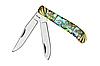 Нож складной 27152 CST