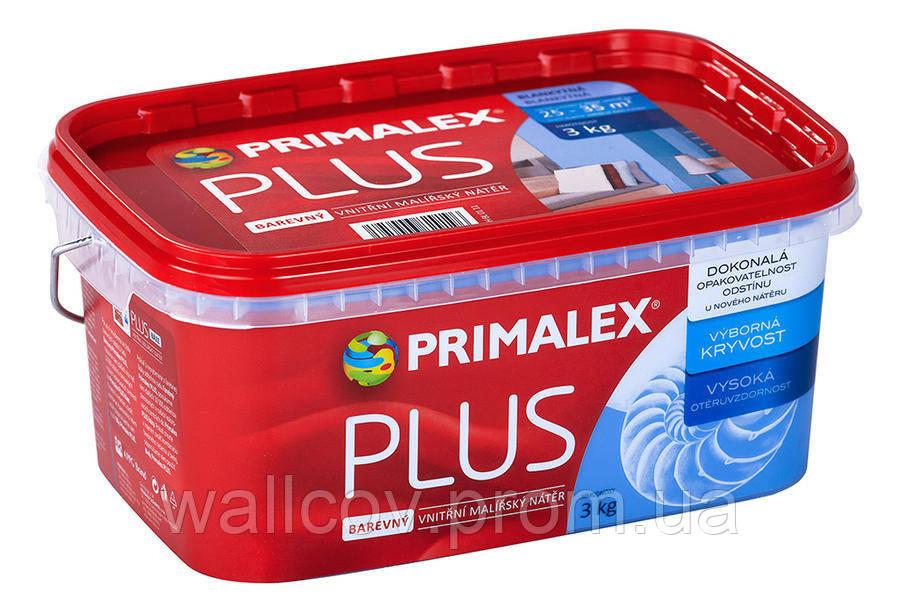 Краска цветная Primalex Plus Color (Прималекс  Плюс) 3кг