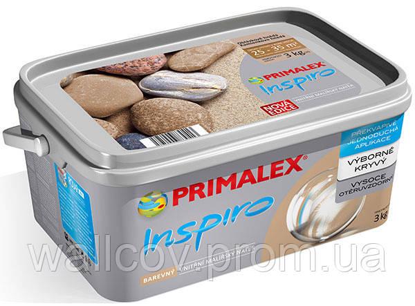 Краска цветная Primalex Inspiro (Прималекс  Инспиро) 3кг
