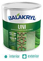Краска для дерева и металла Balakryl Universal Satin (Uni) 2,5кг