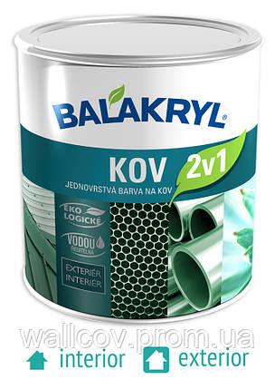 Краска для металла Balakryl Kov 2в1, фото 2