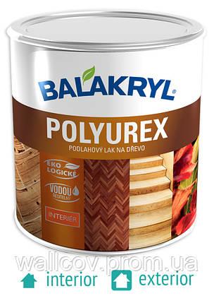 Полиуретановый паркетный лак Balakryl Polyurex 0,6л, фото 2