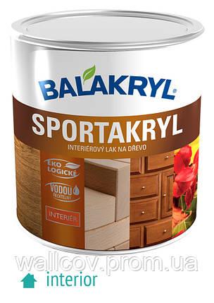 Акриловый паркетный лак  Balakryl Sportakryl 0,7л, фото 2