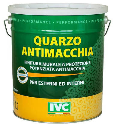 Краска акриловая с кварцем Quarzo Antimacchia (IVC), фото 2