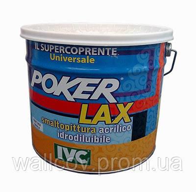 Краска акриловая сатиновая эмалевая Poker Lax Satinato (IVC), фото 2