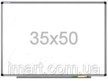 Доска магнитно-маркерная 35х50 см в алюминиевой раме UkrBoards. Магнитно маркерна дошка