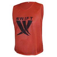 Манишка (сетка) красная Swift Training Bib 35-13