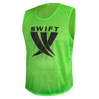 Манишка (сетка) салатовая Swift Training Bib 35-11