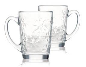 Набор чайных кружек Luminarc NEW MORNING FLOWER 320 мл (N6228)