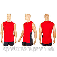 Форма волейбольная мужская красная 6503M-R